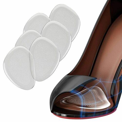 3 Pairs Premium Extra Soft Metatarsal Pads Runee Ball of Foot Cushions 6pcs