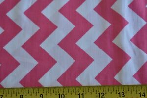 """52/"""" Wide By 1//2 Yd Fuchsia /& Pink Flannel N1768"""