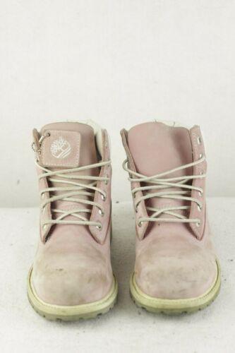 de para 4uk mujer Baby Ups Very Timberland Pink cuero P84 Botas Lace Buck Nu Good gdTq44