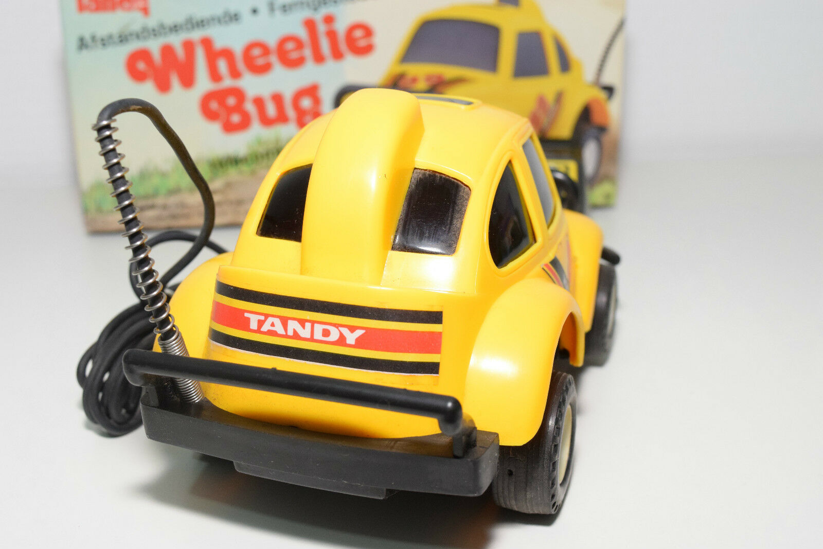 TANDY HONG KONG 2360 WHEELIE BUG BUG BUG VW VOLKSWAGEN BEETLE KAFER NEAR MINT BOXED 7b7b83