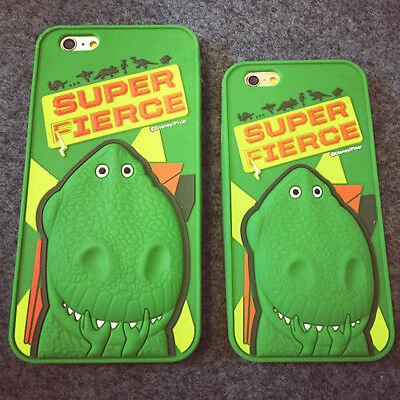 SUPER FIERCE TOY STORY DINO REX FOR iPhone 6, 6PLUS, 7, 7PLUS CASE PHONE COVER