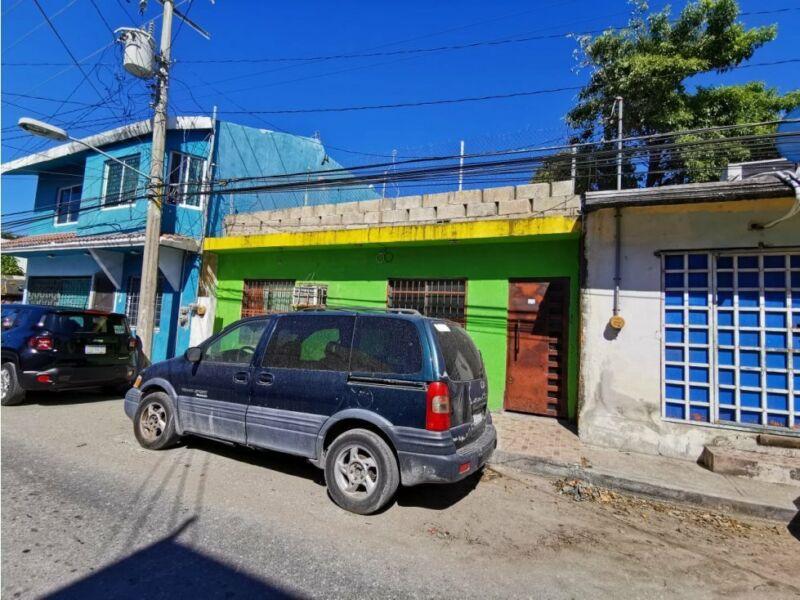 VENTA CASA EN RENOVACION 7 CIUDAD DEL CARMEN