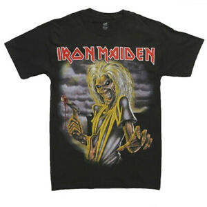 IRON-MAIDEN-T-Shirt-Killers-OFFICIALLY-LICENSED-Authentic-Rock-Tee-S-M-L-XL-XXL
