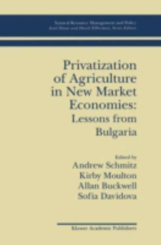 Natural Resource Management and Policy: Privatization of Agriculture in New...