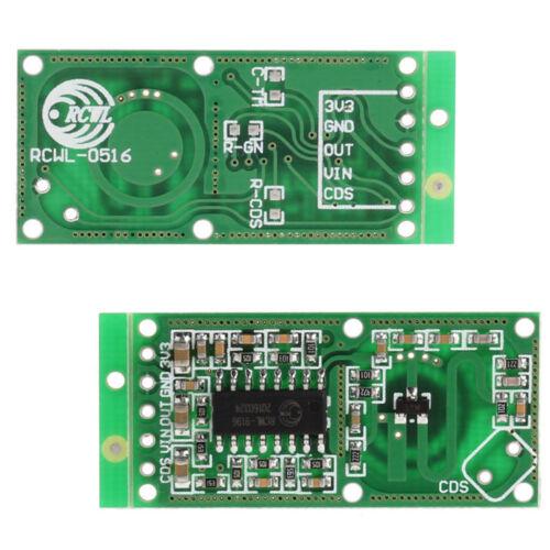 2PCS Microwave Radar RCWL-0516 Sensor Switch Human Body Sensing Detector AHS
