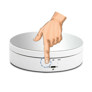 Image result for 360 DEGREE ELECTRIC ROTATING TURNTABLE DISPLAY STAND