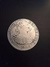 1794 8 Reales Hispan (Mexico) Carolus IIII Coin High Quality
