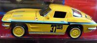 Johnny Lightning Silver '63 Split Window Chevy Corvette Toys