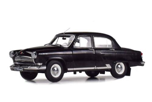 USSR RUSSIAN CAR 1966 BLACK LIMITED 504 PCS. VVM VVM1807 1:18 GAZ 21P VOLGA