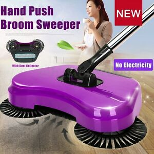 Automatic Hand Push Sweeper Broom Household Cleaning Without Electricity