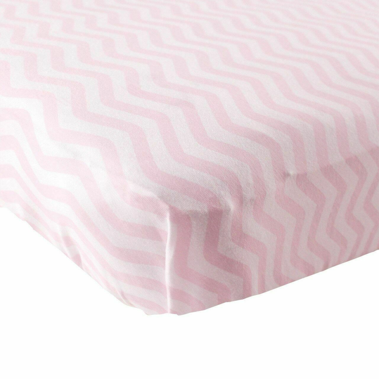 Blue One Size Luvable Friends Unisex Baby Fitted Portable Crib Sheet