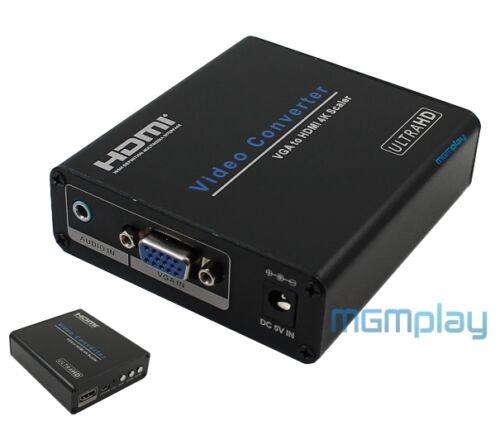 audio Jack VGA d-sub 15pin HDMI 2.0 UHD 4K  Converter  Konverter CX-KV21