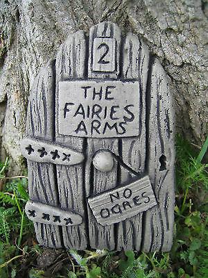 pub door stone garden ornament <<VISIT MY SHOP>>