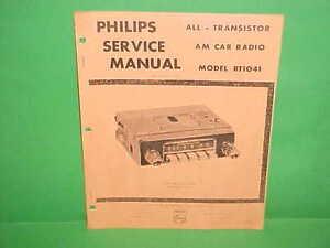 1965 renault r8 1100 dauphine gordini caravelle philips am radio rh ebay com Renault R2 Renault R31