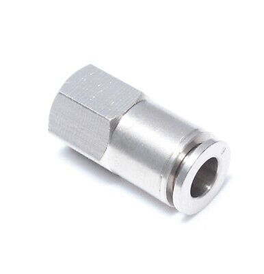 1//4 NPT Pack of 10 10 mm OD MTHF 10-N02-10PK 1//4 NPT MettleAir MTHF 10-N02 Push to Connect Universal Female Elbow L Fitting Pack of 10