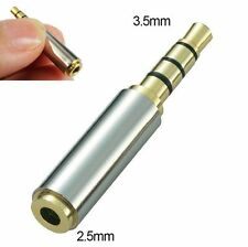 3.5mm Male to 2.5mm Female Stereo Audio Headphone Jack Adapter Converter