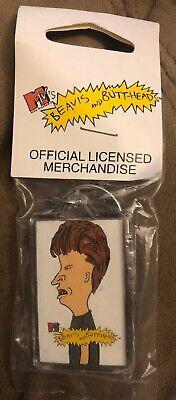 Key chain 1993 Beavis and Butt-head Licensed MTV Collectible Key Chain NIB New