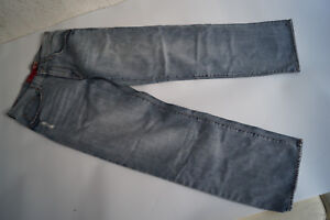 GUESS-Herren-Jeans-Hose-32-34-W32-L34-relaxed-used-look-Risse-hellblau-TOP-6