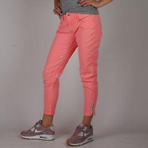 Levi-s-Legging-zipper-cuffs-Damen-Summer-Rosa-Jeans-Groesse-28
