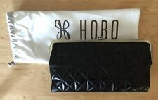 Hobo International Lauren Embossed Black Leather Wallet Clutch for ... bf17ad9d1f281