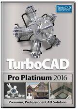 TurboCAD Pro Platinum 2016 Full version for Windows