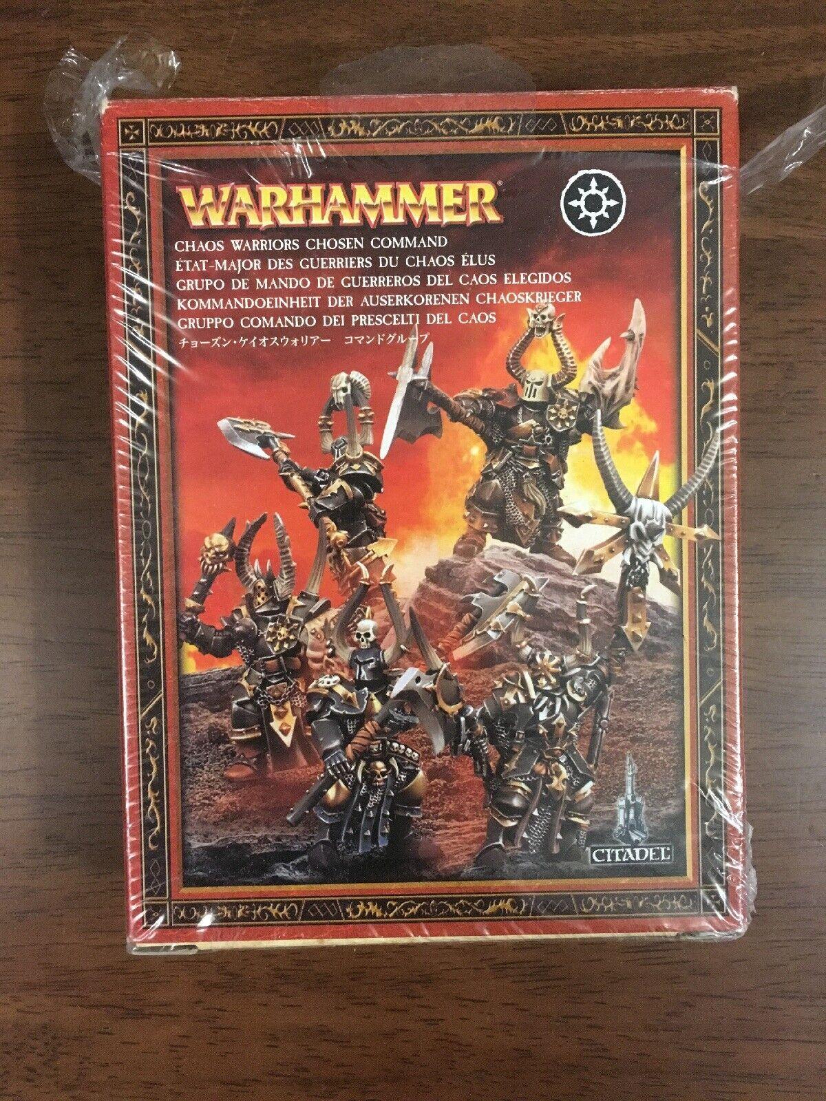 migliore marca Chaos Warrior Chosen Comuomod Set Set Set Age Of Sigmar NIB OOP AoS Warhammer fantasyc  comprare a buon mercato