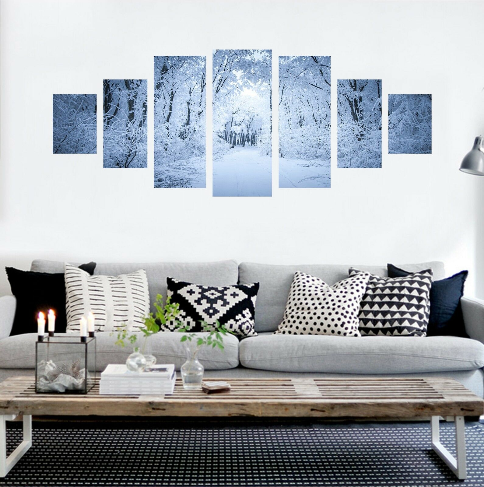 3D Winter Grove 55 Unframed Print Wall Paper Decal Wall Deco Indoor AJ Wall