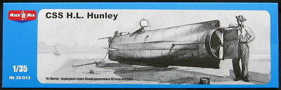 Hanley Confederate submarine /</< Micro-Mir #35-013 1:35 scale CSS H.L