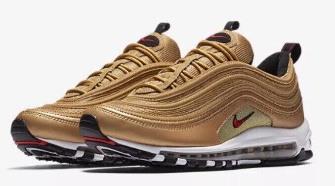 Nike Air Max 97 gold Bullet UK7 Brand New OG Patta Atmos 1 87 90 95 98