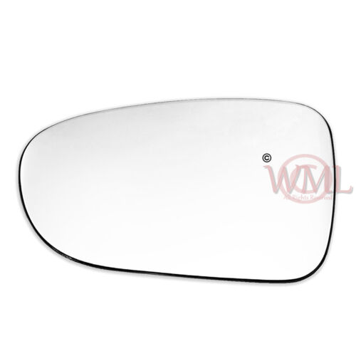 FORD GALAXY 1995-/>2006 DOOR//WING MIRROR GLASS SILVER,NON HEATED /& BASE,LEFT SIDE