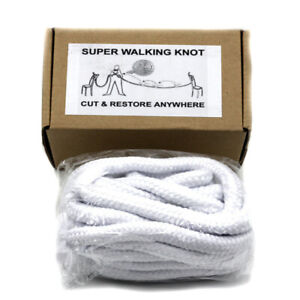 Super-Walking-Knot-White-Magic-Trick-Magician-Stage-Illusion-Funny-Gimmick-New
