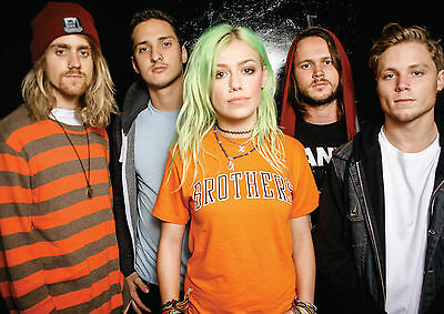 Tonight Alive Band Large Poster A0 A1 A2 A3 A4