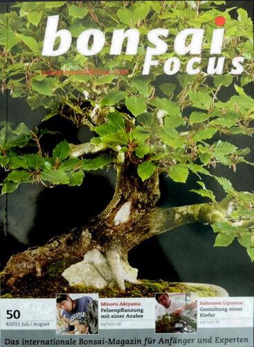 BONSAI Magazin BONSAI Focus #50 JUL//AUG 2011 Das europ