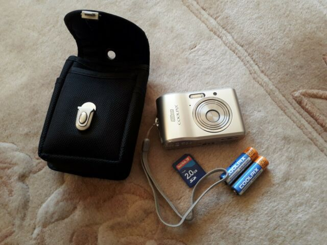Nikon COOLPIX L16 7.1MP Digital Camera - Silver