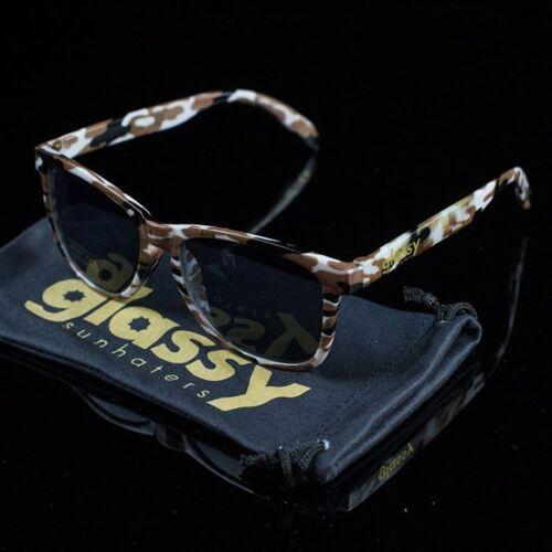 Nouveau Glassy Sunhaters Lunettes de Soleil Sunglasses Glasses Deric Camo Mike Mo Wayfarer