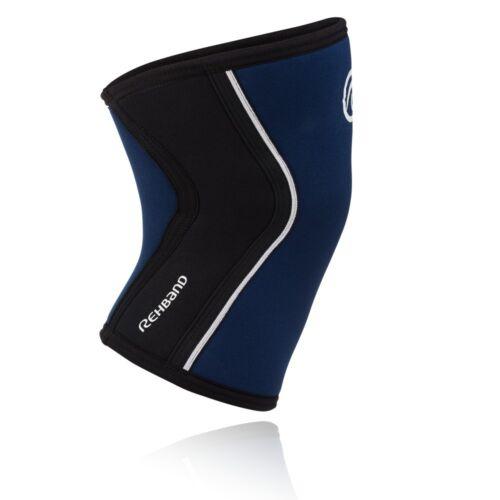 Rehband RX Line 5 mm Navy Knee Cap CrossFit Josh Bridges Signature New 2017
