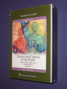 Teaching-Co-Great-Courses-CDs-PEOPLES-and-CULTURES-of-WORLD-new-sealed