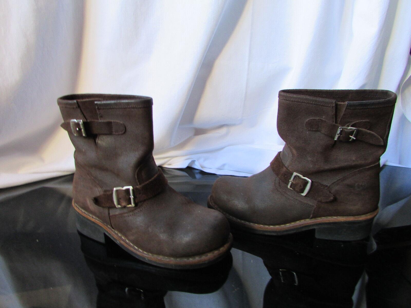 botas cleats go west bold leather marrón 38