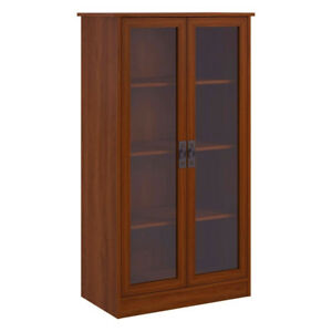 Mission-Craftsman-Shaker-Cherry-Barrister-Bookcase-New