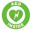 thumbnail 7 - AED Inside Circle Emblem Vinyl Decal Window Sticker Car