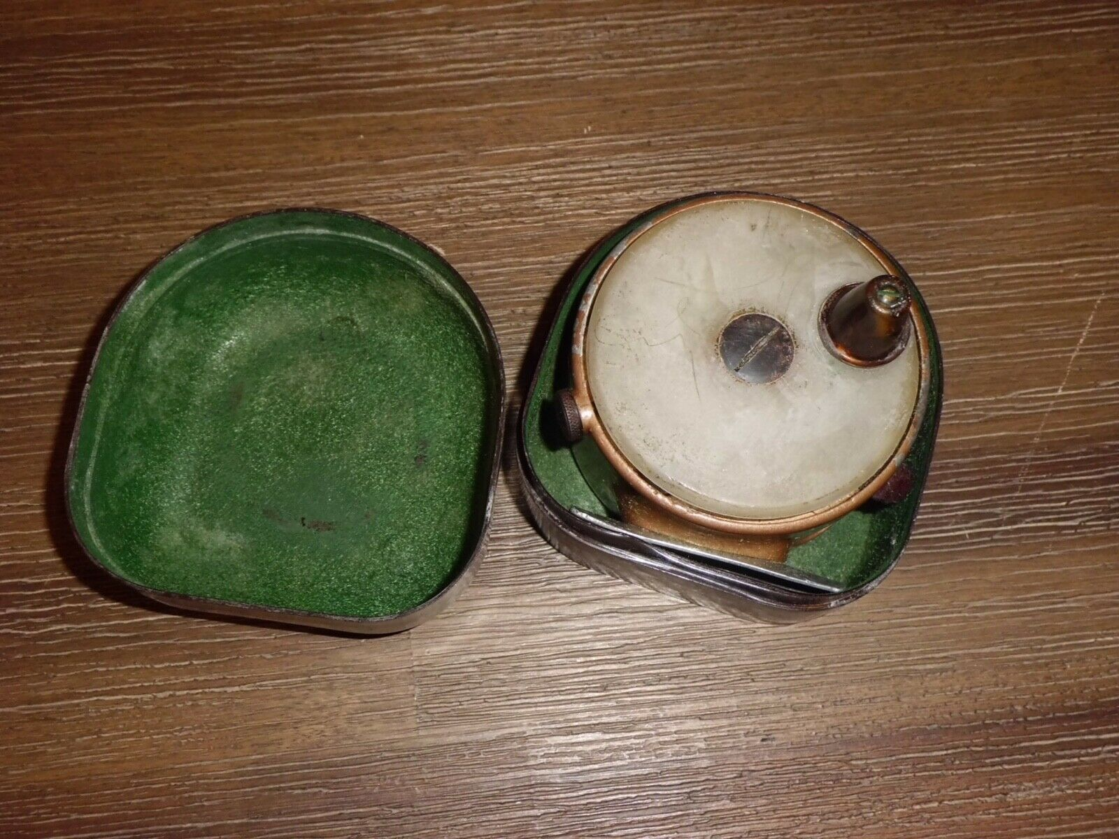 Vintage PRECISIONBILT MOSQUITO Fly Reel made in USA w  Original Container