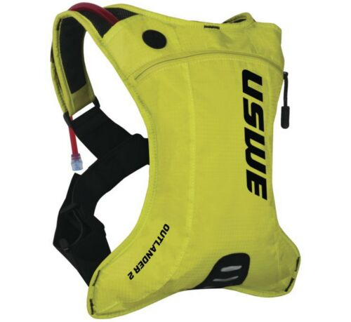 USWE Outlander 2L Hydration Backpack Crazy Yellow