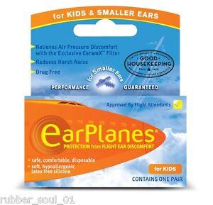 Cirrus earPlanes Kinder & kleiner Ohren Ohrstecker - 1 Paar