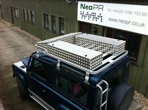 Aluminium-alloy-storage-roof-box-Landrover-Land-Rover