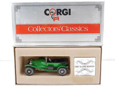 Corgi C861 Bentley 3-litre 1927 Open Grün Green 1:43 Top! Ovp 1607-23-81 Attraktiv Und Langlebig