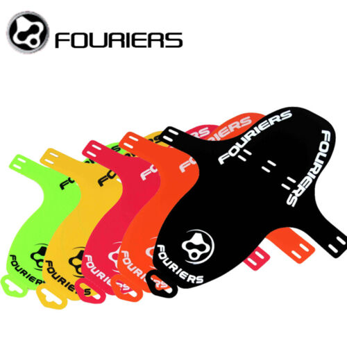 1 of 1 - Fouriers MTB DH XC AM Fork Fender Or Rear Saddle Rail Mud Guards Mudguard PP