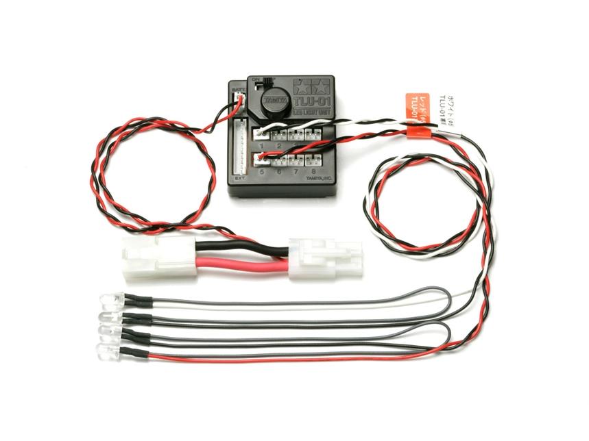 Tamiya 53909 RC LED Luce  Unità (TLU-01)  miglior prezzo