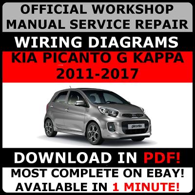 WIRING *WORKSHOP MANUAL SERVICE /& REPAIR GUIDE for KIA CEED II JD 2012-2017