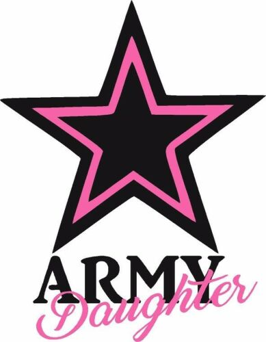 Sister Decal // BLACK // Vinyl Vehicle Military Sticker Daughter Mom Army Wife