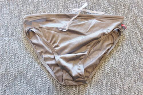 M AussieBum Mens silver classic 2.5 back Red logo Swim bikini Swimwear size S